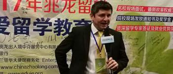 愛爾蘭都柏林國際預科學院市場經理Ray老師專訪