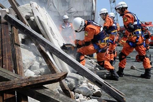 東京板橋區首次組織4月入學留學生進行防災訓練