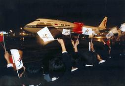 奧運往事:載旗航空的五環情緣