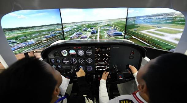全國青少年模擬飛行錦標賽在哈爾濱開賽