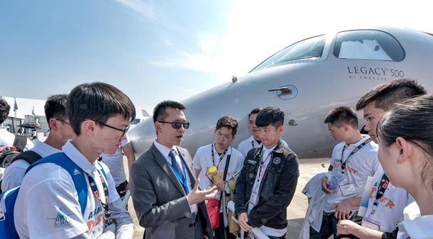 """第八屆亞洲商務航空大會及展覽會舉行""""職業發展日""""活動"""