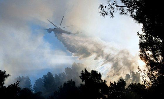 美國南加州山火肆虐