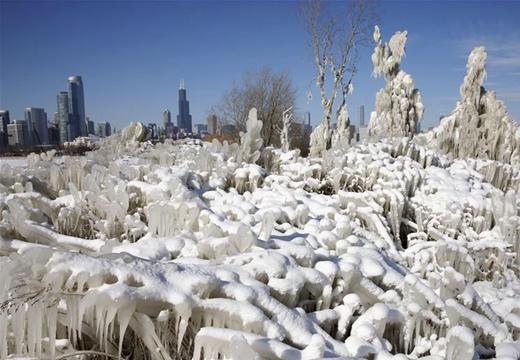 """""""冰凍""""芝加哥"""