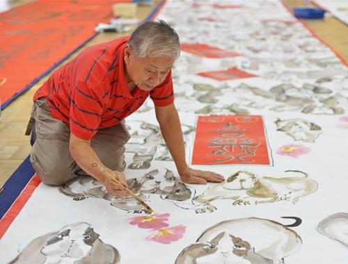 馬來西亞:繪畫迎新春