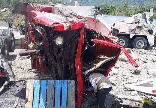 哥倫比亞發生連環交通事故 造成8死14傷