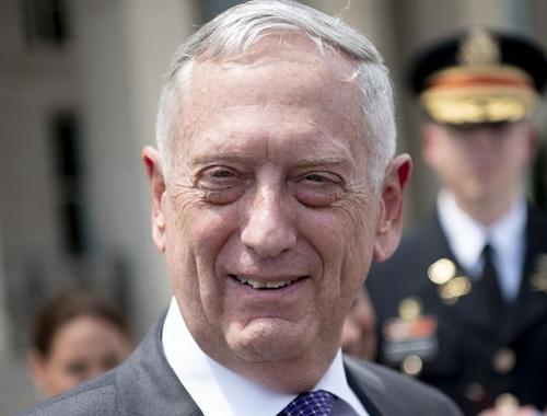 美國防部長馬蒂斯將于明年2月底去職