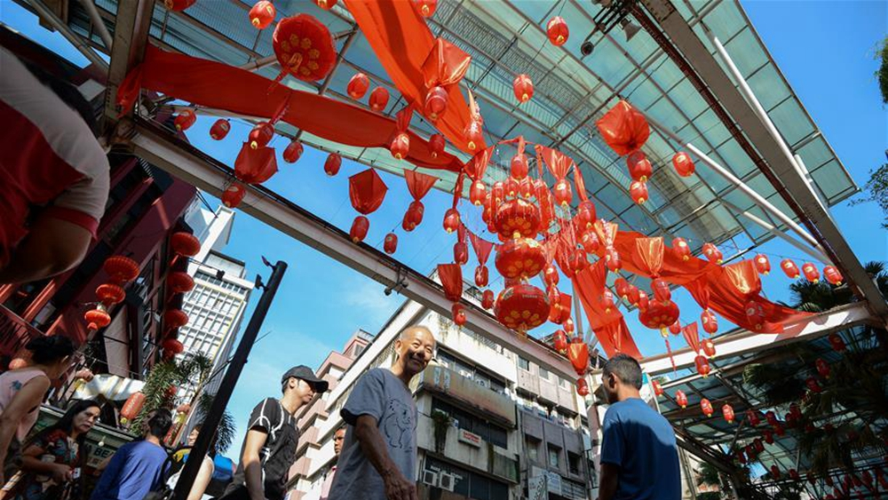 吉隆坡:過臘八 迎新春