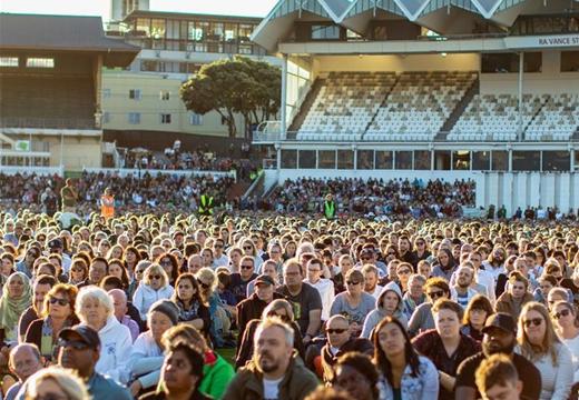 新西蘭首都惠靈頓舉行公共悼念活動