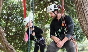 新西蘭:兒童周末爬樹體驗