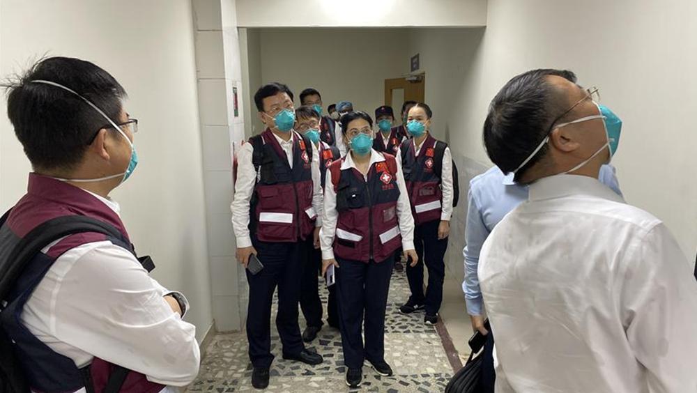 孟外長感謝中國抗疫醫療專家組分享經驗