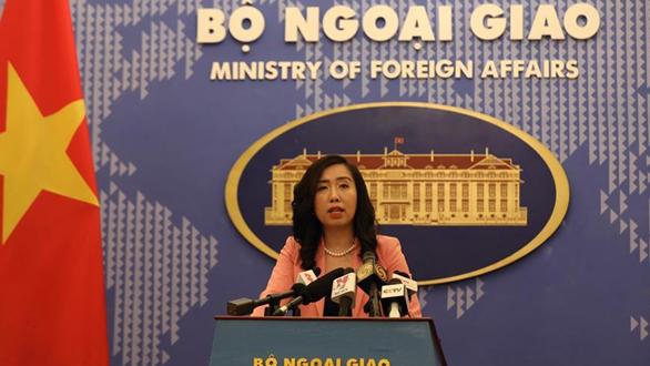 越南外交部表示尊重和支持香港基本法及相關法律制度