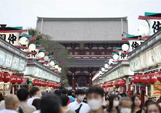 日本迎來全國適用旅遊補貼後的首個周末