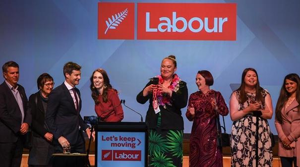 新西蘭工黨在議會選舉中獲勝