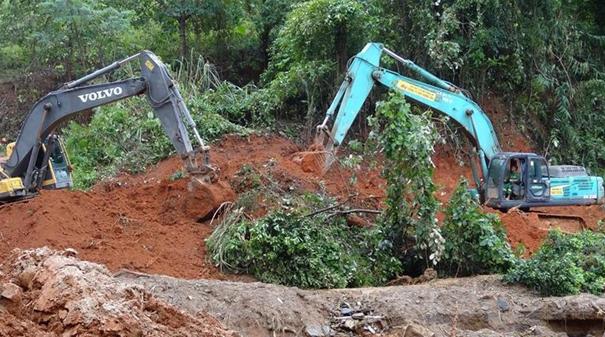 越南中部發生山體滑坡22名軍人被埋