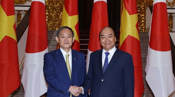 日本首相訪問越南