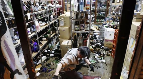 日本福島東部海域發生7.1級地震