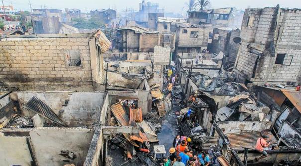 菲律賓馬尼拉發生火災 致5人喪生
