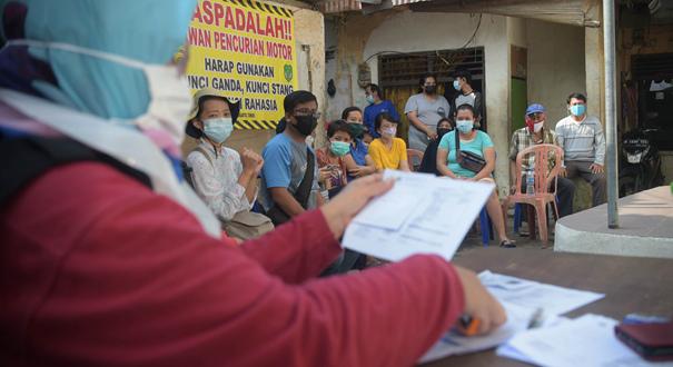 印尼單日新增新冠確診病例12624例
