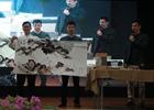 中泰等國藝術家同場作畫話友誼
