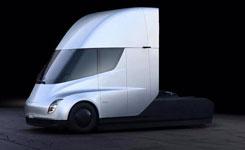 特斯拉發布首款電動卡車 續航裏程達800公裏