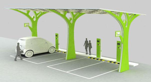 充電樁建設加速助推新能源汽車發展 2018年或破百萬輛