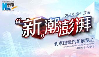 2018北京國際車展