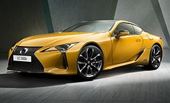 雷克薩斯公布LC限量版預告圖 將在巴黎車展首發