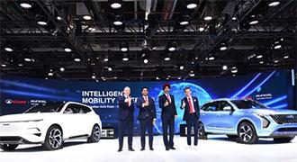 長城汽車攜哈弗和長城EV品牌亮相印度車展