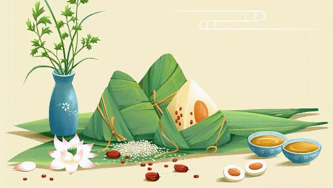 【新華悅聽】故宮宴·端午粽子不含糊