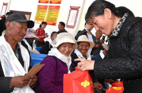 """西藏福彩開展""""情暖高原""""助殘日公益活動"""