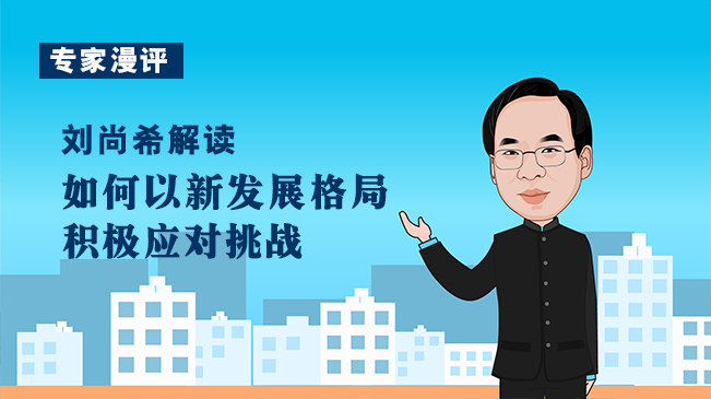 【專家漫評】劉尚希解讀如何以新發展格局積極應對挑戰