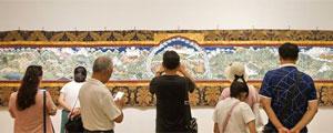 西藏布面重彩畫展