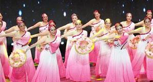 上海舉行市民廣場舞比賽