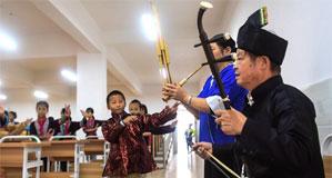 廣西三江:侗戲進校園