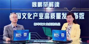 魏鵬舉解讀中國文化産業高質量發展指數
