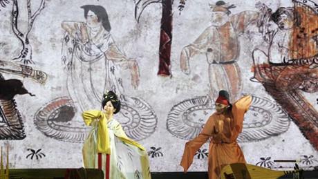 唐樂舞《滿園春色乞婆娑》西安首演