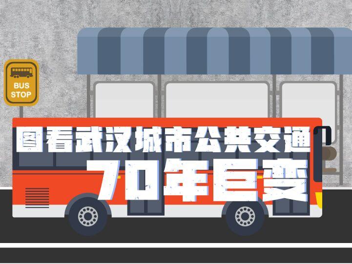 圖看武漢城市公共交通70年巨變