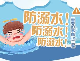 防溺水!防溺水!防溺水!重要的事情説三遍