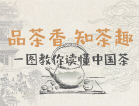 品茶香 知茶趣:一圖教你讀懂中國茶