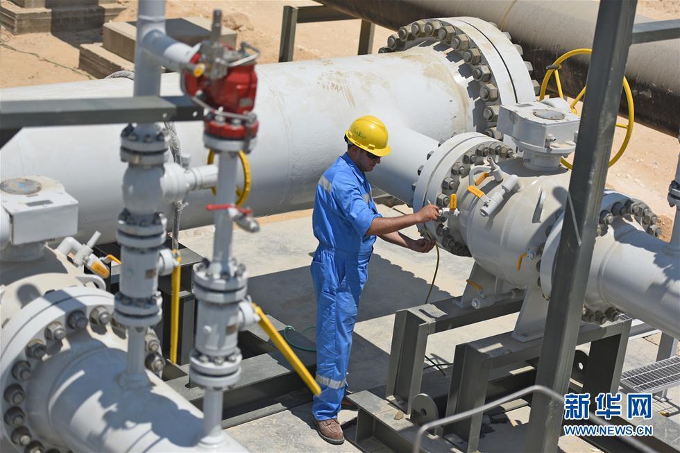 中國天然氣調壓站助力埃及最大發電站