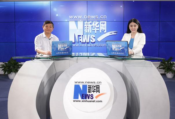 環境保護部副部長黃潤秋接受新華網專訪