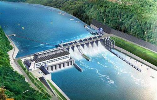 中巴簽訂大型水電站項目合同