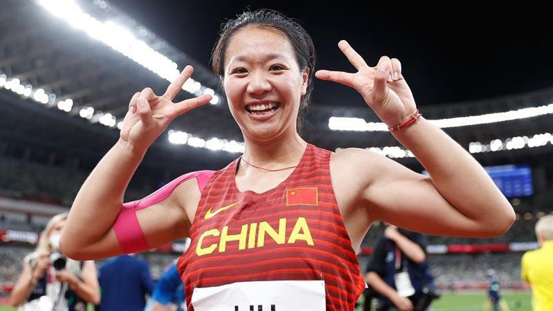 China's Liu Shiying wins China's first Olympic women's javelin gold at Tokyo 2020