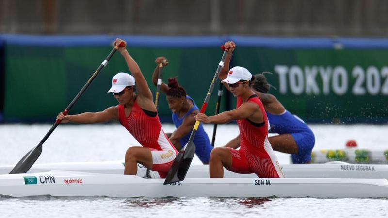 China wins women's canoe double 500m gold at Tokyo Olympics