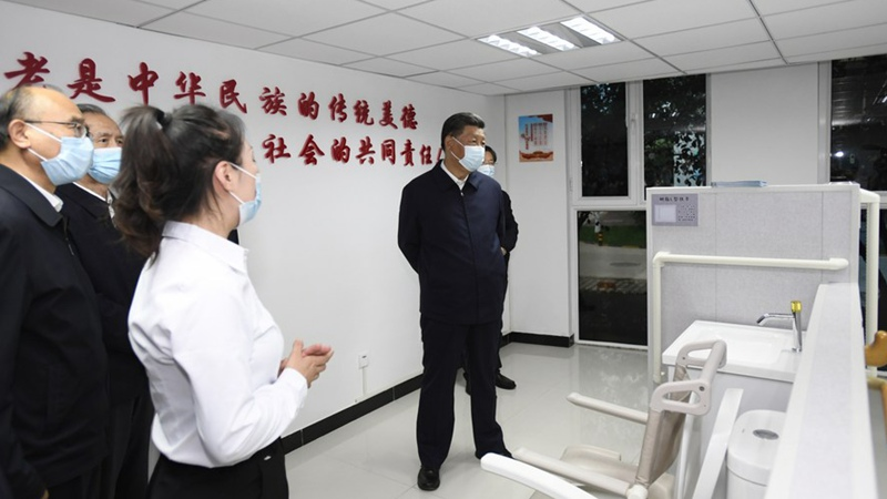 Xi Focus: China develops community-based home care services for elderly
