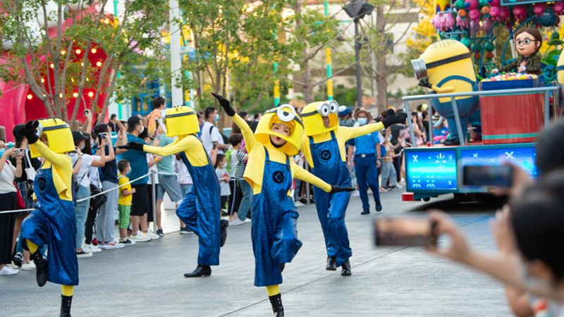 Universal Beijing Resort to start trial opening for invite-only guests