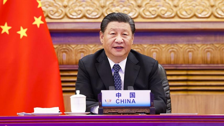 Xi calls for advancing BRICS cooperation to combat virus, uphold multilateralism
