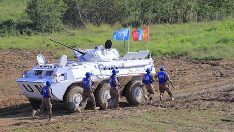 China holds international peacekeeping drill