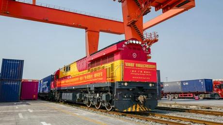 Land-sea trade corridor launches cross-border intermodal service