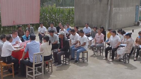 """""""Courtyard meeting"""" helps refine grassroots soft governance in China"""